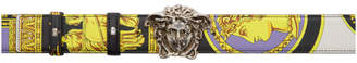 Versace Multicolor Medusa Head Belt