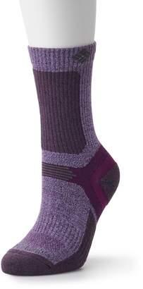 Columbia Men's Wool Blend Crew Hiking Socks