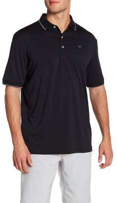 Callaway GOLF Striped Trim Polo