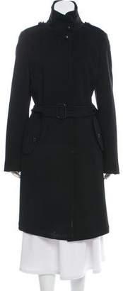 Akris Button-Up Wool Coat
