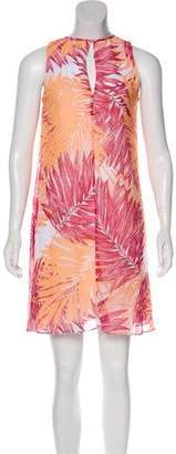 Calvin Klein Collection Abstract Print Sleeveless Mini Dress w/ Tags
