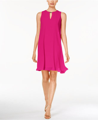 Vince Camuto Sleeveless Keyhole Flyaway Dress $148 thestylecure.com