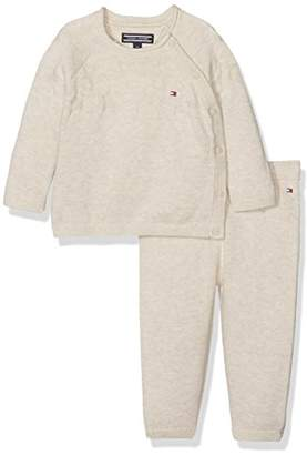 Tommy Hilfiger Baby Textured Sweater 2-Piece Clothing Set