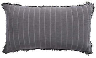 GLUCKSTEINHOME Geometric Cotton Rectangular Cushion