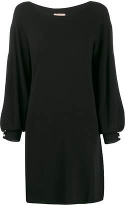 Twin-Set balloon sleeve dress