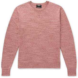 Todd Snyder Space-Dyed Cotton And Cashmere-Blend Sweater