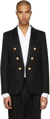 Balmain Black Military Evening Blazer $2,985 thestylecure.com