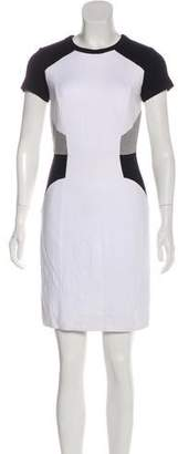 Milly Short Sleeve Contour Dress