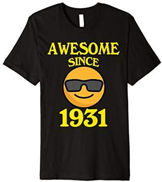 Awesome Since 1931 87th Years Old 87 Birthday Shirt Gifts