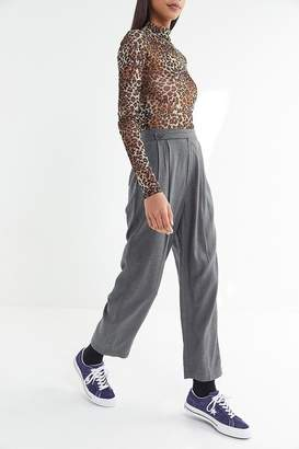Urban Outfitters Astrid Pleated Tapered Trouser Pant