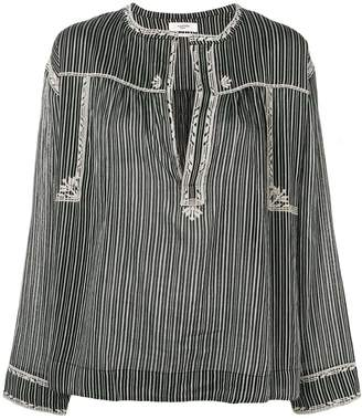 Etoile Isabel Marant vertical striped blouse