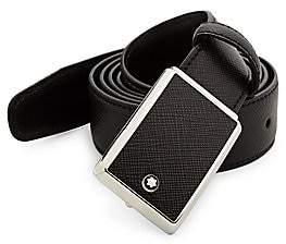Montblanc Men's Slim Leather Belt