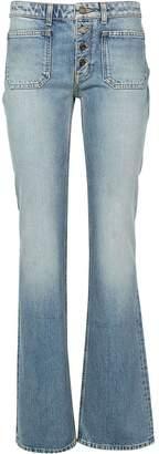 Saint Laurent Flare Jeans