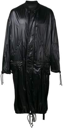 Haider Ackermann long raincoat