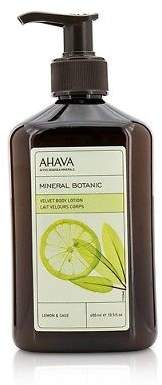 Ahava NEW Mineral Botanic Velvet Body Lotion - Lemon & Sage 400ml Womens Skin