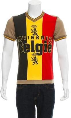 Dolce & Gabbana Belgium Jersey T-Shirt w/ Tags