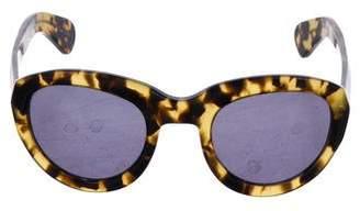 Dries Van Noten Tinted Tortoiseshell Sunglasses