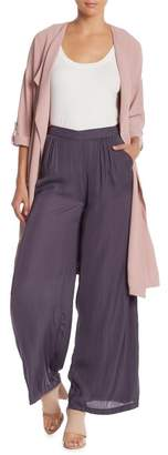 Do & Be Do + Be Palazzo Satin Pants