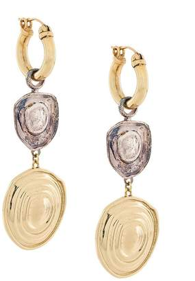 Ellery Aegean vertical drop earrings
