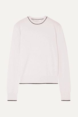 La Ligne Neat Wool And Cashmere-blend Sweater - Cream