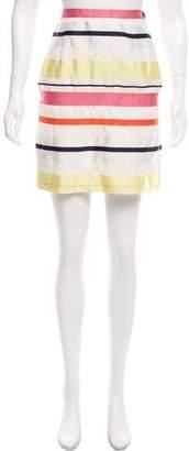 Max Mara Weekend Striped Mini Skirt
