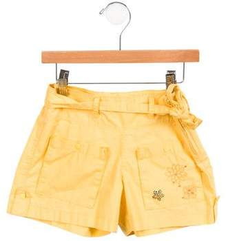 Catimini Girls' Embellished Mini Shorts