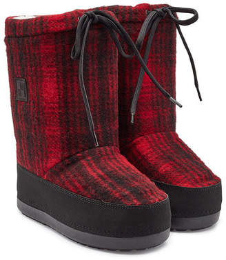 Woolrich Arctic Snow Wool Ankle Boots