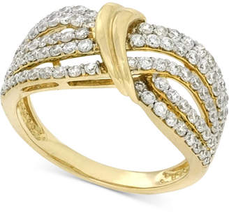 Wrapped in Love Diamond Statement Ring (1 ct. t.w.) in 14k Gold