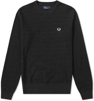 Fred Perry Authentic Pique Texture Sweat