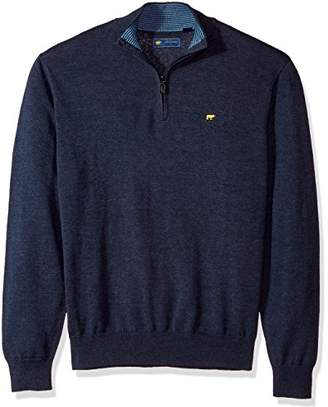 Jack Nicklaus Men's 1/4 Zip Long Sleeve Sweater