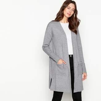 The Collection - Grey Zip Pocket Long Sleeve Coatigan