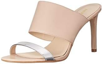 Nine West Women's Azinta Leather Heeled Sandal