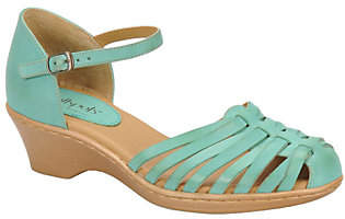 Softspots Leather Huarache Sandals -Tatianna