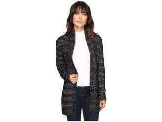 Lucky Brand Shine Stripe Cardigan Women's Sweater