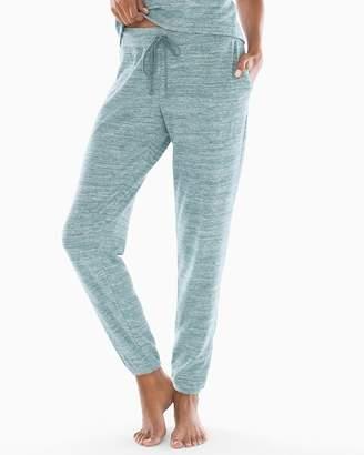 Cozy Nights Banded Ankle Pajama Pant Heather Atlantic