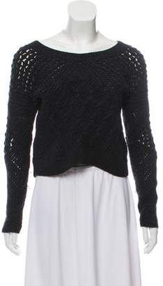 AllSaints Wool Scoop Neck Sweater