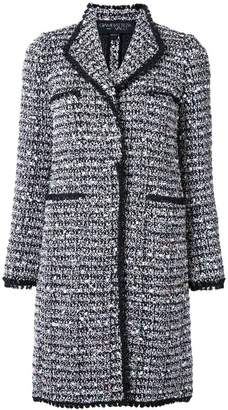 Giambattista Valli tweed long coat