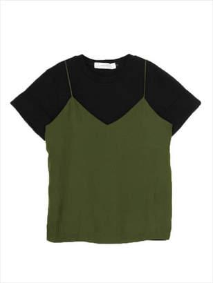 LAGUNAMOON (ラグナムーン) - Tシャツ×キャミSET トップス