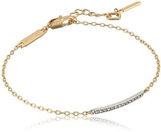 Kenneth Cole New York Women's Two Tone bar Anklet