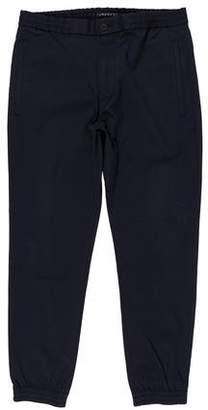 Theory Cropped Flat Front Joggers
