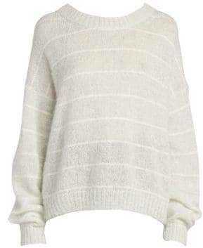 Acne Studios Kassidy Stripe Knit Sweater