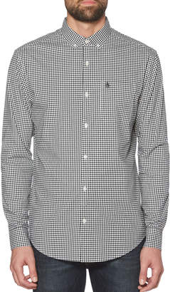 Original Penguin CLASSIC FIT STRETCH GINGHAM SHIRT