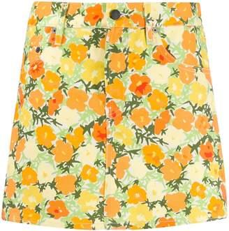 Simon Miller short floral skirt
