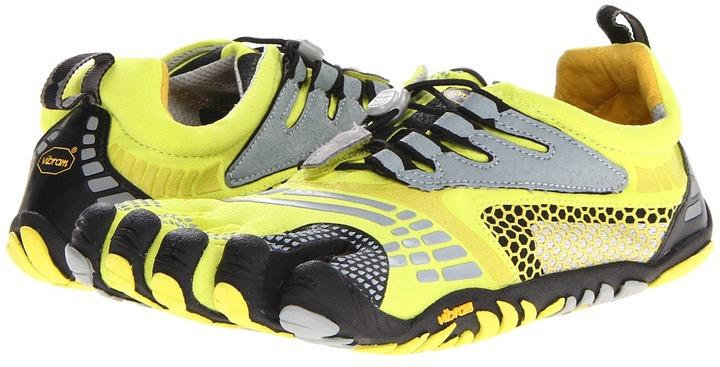 Vibram FiveFingers KMD Sport LS (Lime/Grey/Black) - Footwear