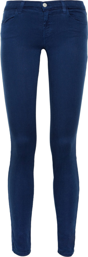 J Brand 620 mid-rise leggings-style jeans