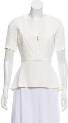 Maiyet Short Sleeve Silk Top w/ Tags