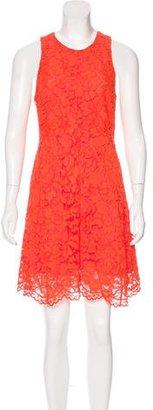 Sandro Lace A-Line Dress $85 thestylecure.com
