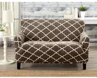 Alcott Hill T-Cushion Loveseat Slipcover