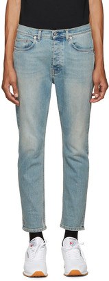 Acne Studios Blue Town Jeans $290 thestylecure.com
