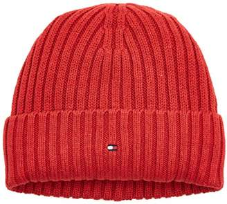 Tommy Hilfiger Boy's Cotton Cashmere Beanie Hat,Small